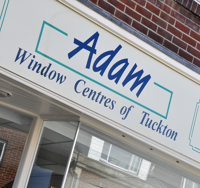 Adam Window Centres Shop Front