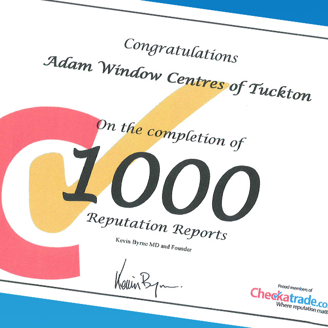 1000 Checkatrade Reviews
